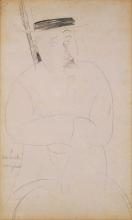 Modigliani, Ritratto di Adolphe Basler.png