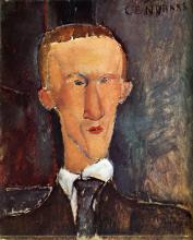 Modigliani, Ritratto di Blaise Cendras.png