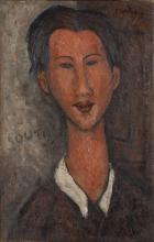 Modigliani, Ritratto di Chaim Soutine