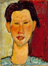 Modigliani, Ritratto di Chaim Soutine | Portrait de Chaïm Soutine | Bildnis Chaïm Soutine | Portrait of Chaïm Soutine