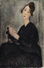 Modigliani, Ritratto di Dedie.png