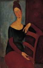 Modigliani, Ritratto di Jeanne Hebuterne [6].jpg