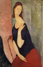 Modigliani, Ritratto di Jeanne Hebuterne [9].jpg