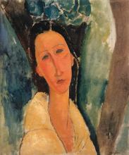 Modigliani, Ritratto di Madame Zborowska [1].png