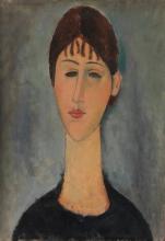 Modigliani, Ritratto di Madame Zborowska [2].jpg