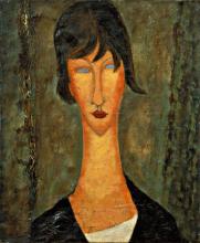 Modigliani, Ritratto di donna [1].png