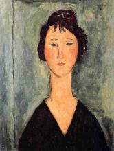 Modigliani, Ritratto di donna [17].jpg