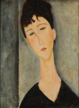 Modigliani, Ritratto di donna | Portrait de femme | Portrait of a woman | Figura de mujer