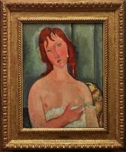 Modigliani, Ritratto di giovane donna [1][cornice].jpg