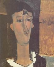 Modigliani, Ritratto di giovane donna.jpg