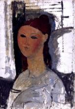 Modigliani, Ritratto di una giovane donna, seduta.jpg