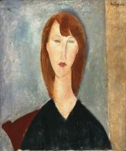 Modigliani, Ritratto di una modella sconosciuta.jpg