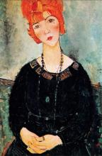 Modigliani, Signora con collana, Lolotte.png