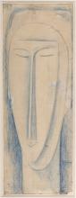 Modigliani, Studio di testa per una scultura.jpg