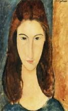 Modigliani, Testa di Jeanne Hebuterne.jpg