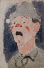 Modigliani, Testa di clown.png