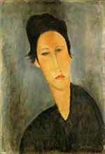 Modigliani, Testa di donna (Anna Zborowska).jpg