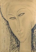 Modigliani, Testa di donna [6].jpg