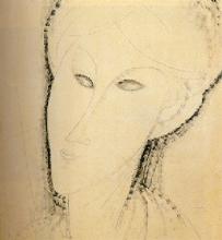 Modigliani, Testa di donna [7].jpg