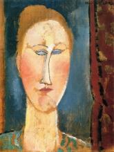 Modigliani, Testa di donna dai capelli rossi.jpg