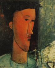 Modigliani, Testa di donna di profilo [2].png