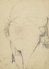 Modigliani, Testa di fanciulla con cappello.jpg