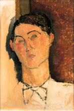 Modigliani, Testa di giovane uomo.png