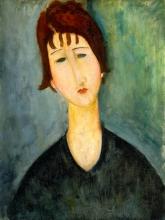 Modigliani, Una donna.jpg
