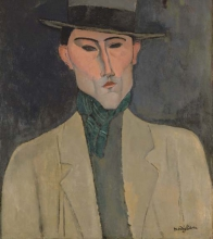 Modigliani, Uomo con cappello.jpg
