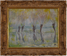 Claude Monet, Alluvione a Giverny | Flood at Giverny