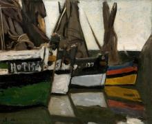 Monet, Barche da pesca a Honfleur [1866].jpg