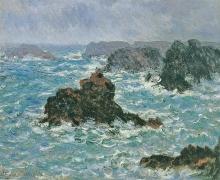 Monet, Belle Île, effetto di pioggia   Belle-Île, effet de pluie   Belle-Île, rain effect