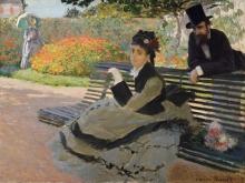 Monet, Camille Monet su un panchina.jpg