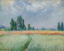 Monet, Campo di grano   Champ de blé   Wheat field