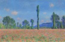 Monet, Campo di papaveri (Giverny) | Champ de coquelicots (Giverny) | Poppy field (Giverny)