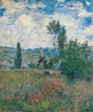 Monet, Campo di papaveri a Vetheuil | Champ de coquelicots à Vétheuil | Poppy field at Vétheuil