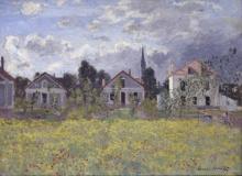 Claude Monet, Case ad Argenteuil | Maisons à Argenteuil | Häuser in Argenteuil