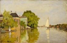 Monet, Case sullo Achterzaan.jpg