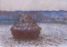 Monet, Covone di grano | Meule de blé | Stack of wheat