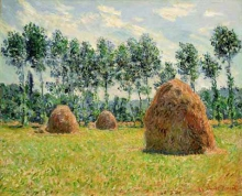 Monet, Covoni di fieno a Giverny | Meules de foin | Haystacks at Giverny