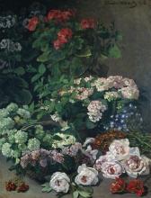 Monet, Fiori primaverili | Fleurs de printemps | Spring flowers