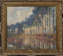 Monet, I pioppi | Les peupliers | Poplars