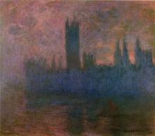 Monet, Il Parlamento, sinfonia in rosa | Le Parlement, symphonie en rose | Houses of Parliament, symphony in rose