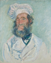 Monet, Il cuoco (Le Père Paul) | Der Koch (Le Père Paul) | Le cuisinier (Le Père Paul) | The cook (Le Père Paul)