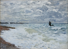 Monet, Il mare a Le Havre | La mer au Havre | The sea at Le Havre