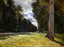 Monet, Il pavé di Chailly nella foresta di Fontainebleau | Le pavé de Chailly dans la forêt de Fontainebleau | Chailly pavé in the Fontainebleau forest
