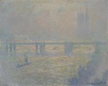Monet, Il ponte di Charing Cross | Le pont de Charing Cross | Charing Cross Bridge
