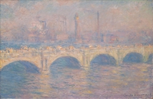 Monet, Il ponte di Waterloo, Londra | Le pont de Waterloo, Londres | Waterloo Bridge, London