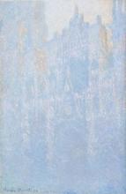 Claude Monet, Il portale, nebbia mattutina | Le portail, brouillard matinal | Die Kathedrale von Rouen im Morgennebel