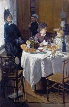 Monet, Il pranzo | Das Mittagassen | Le déjeuner | The lunch
